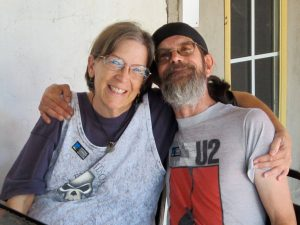 My sister and brother, Sue and Dale Phelps